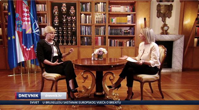 Predsjednica podržala prosvjed u Vukovaru: Ratni zločin ne zastarijeva i ljudi imaju pravo tražiti ubrzanje tih postupaka