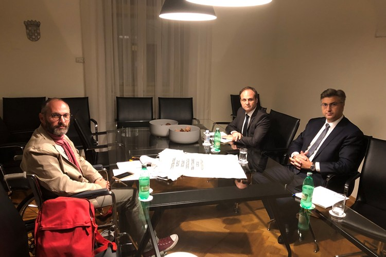 Novinar Domagoj Margetić prekinuo štrajk glađu, premijer Andrej Plenković primio ga na razgovor