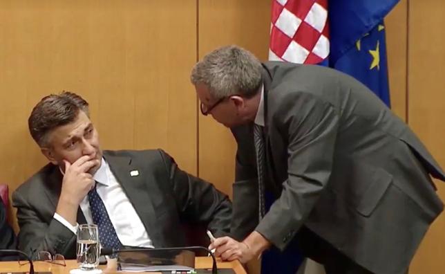 Premijer Andrej Plenković podnio je danas Hrvatskom saboru izvješće o radu Vlade