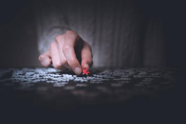 Multi sklerotičan život(3): Puzzle slika
