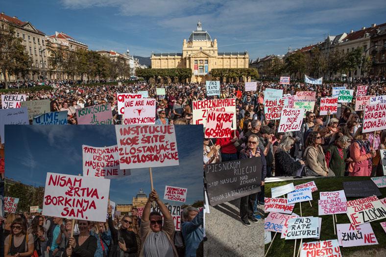 Tjedni pregled: Prosvjedi diljem zemlje protiv silovanja