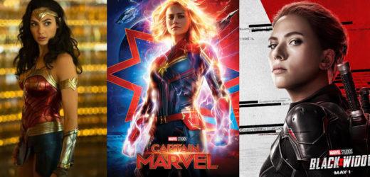 Wonder Woman, Kapetanica Marvel i Crna udovica su novi uzori